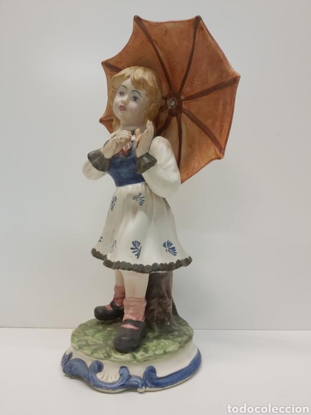 FIGURA PORCELANA CAPODIMONTE (Arte - Escultura - Porcelana)