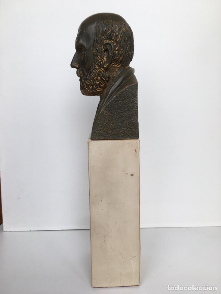 Arte: BUSTO DE HIPÓCRATES. Lab. Salvat - Foto 3 - 195281182