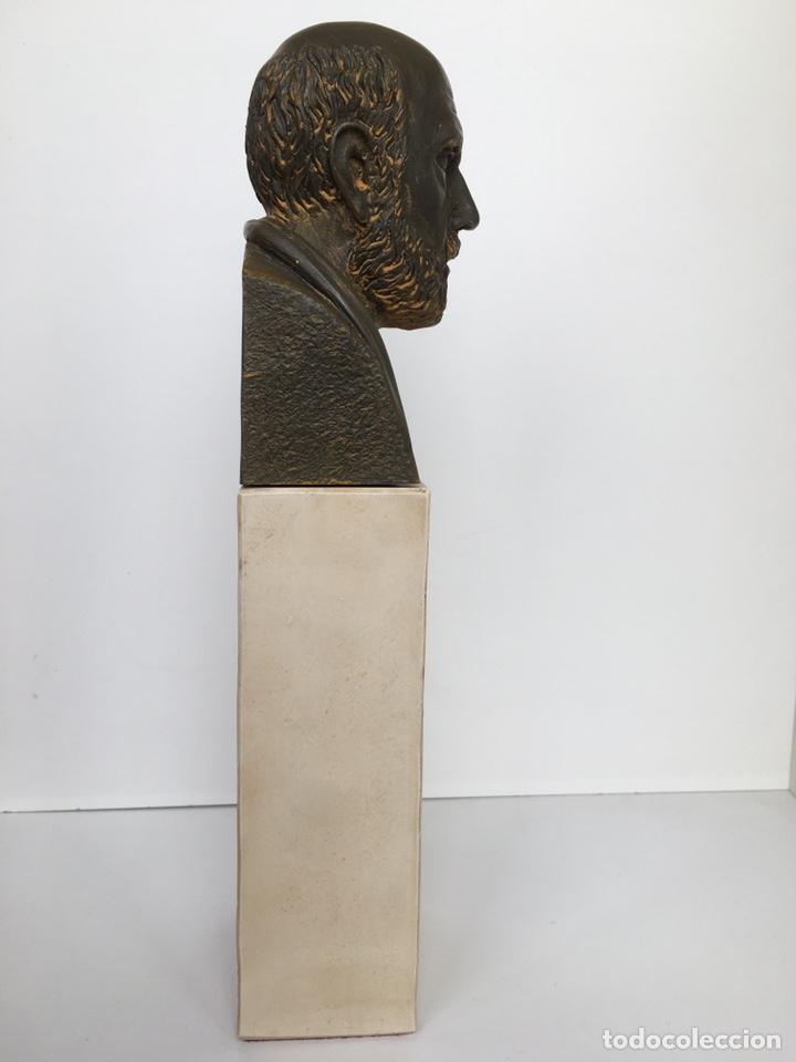 Arte: BUSTO DE HIPÓCRATES. Lab. Salvat - Foto 5 - 195281182