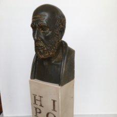 Arte: BUSTO DE HIPÓCRATES. LAB. SALVAT. Lote 195281182