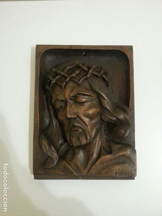 TALLA JESUS DE NAZARET SIGLO XIX (Arte - Escultura - Madera)