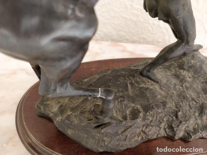 Arte: Estatuas de Caballo de bronce. Antigüedad de Escocia - Foto 9 - 195332157