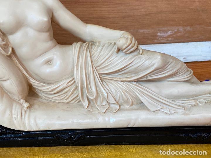 Arte: PRECIOSA VENUS VICTRIX EN TRICLINIO*(Pauline Bonaparte as Venus Victrix) 36x20 cm CAMPOS ORRICO - Foto 8 - 208041297