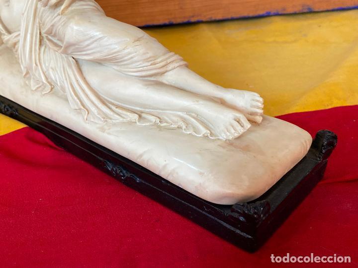 Arte: PRECIOSA VENUS VICTRIX EN TRICLINIO*(Pauline Bonaparte as Venus Victrix) 36x20 cm CAMPOS ORRICO - Foto 9 - 208041297