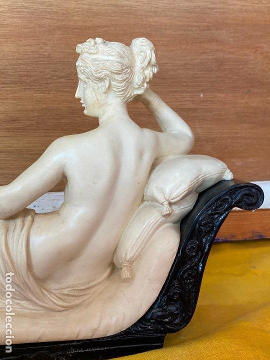 Arte: PRECIOSA VENUS VICTRIX EN TRICLINIO*(Pauline Bonaparte as Venus Victrix) 36x20 cm CAMPOS ORRICO - Foto 10 - 208041297
