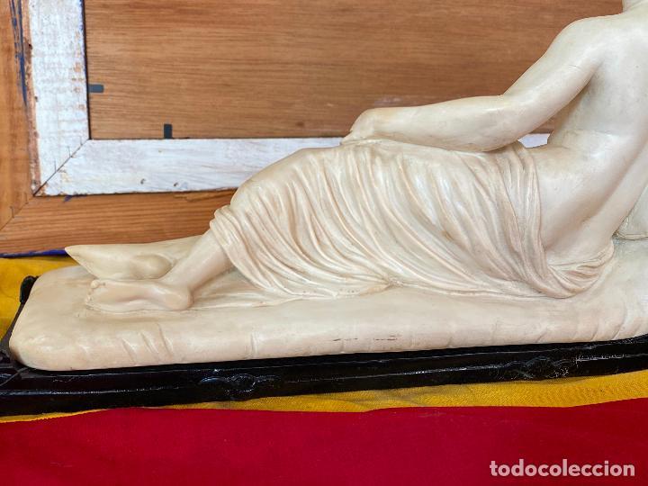 Arte: PRECIOSA VENUS VICTRIX EN TRICLINIO*(Pauline Bonaparte as Venus Victrix) 36x20 cm CAMPOS ORRICO - Foto 13 - 208041297