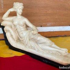 Arte: PRECIOSA VENUS VICTRIX EN TRICLINIO*(PAULINE BONAPARTE AS VENUS VICTRIX) 36X20 CM CAMPOS ORRICO. Lote 195464276