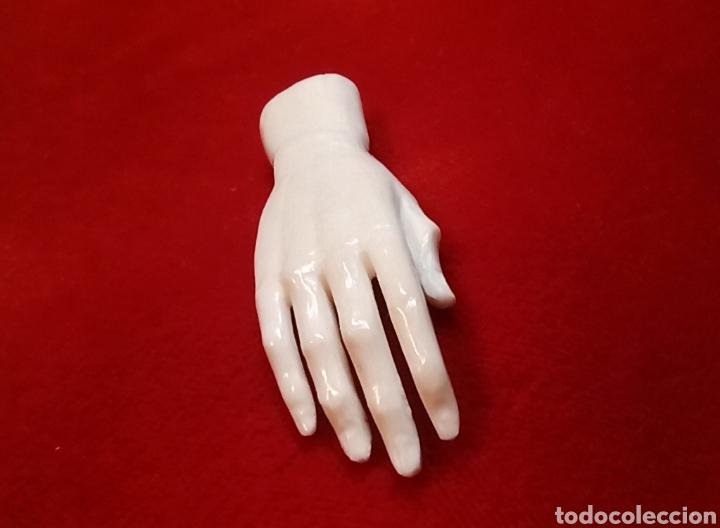 Arte: Mano derecha - talla en hueso de res - Foto 4 - 196295018