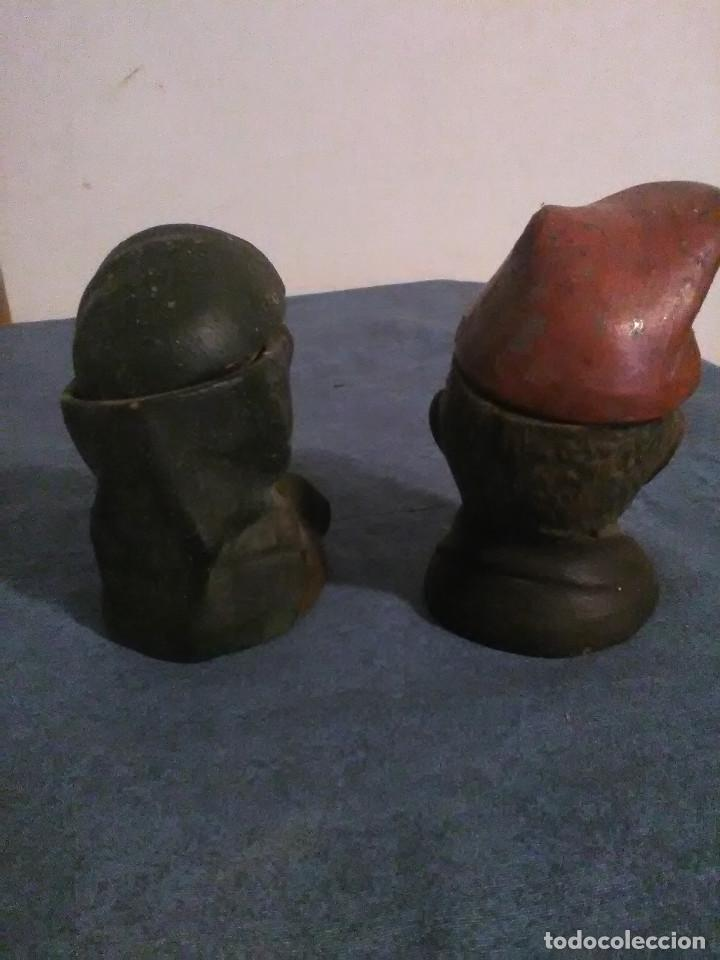 Arte: Pareja de bustos de Catalanes I.Buxo-Olot,originales no copias - Foto 7 - 35234234