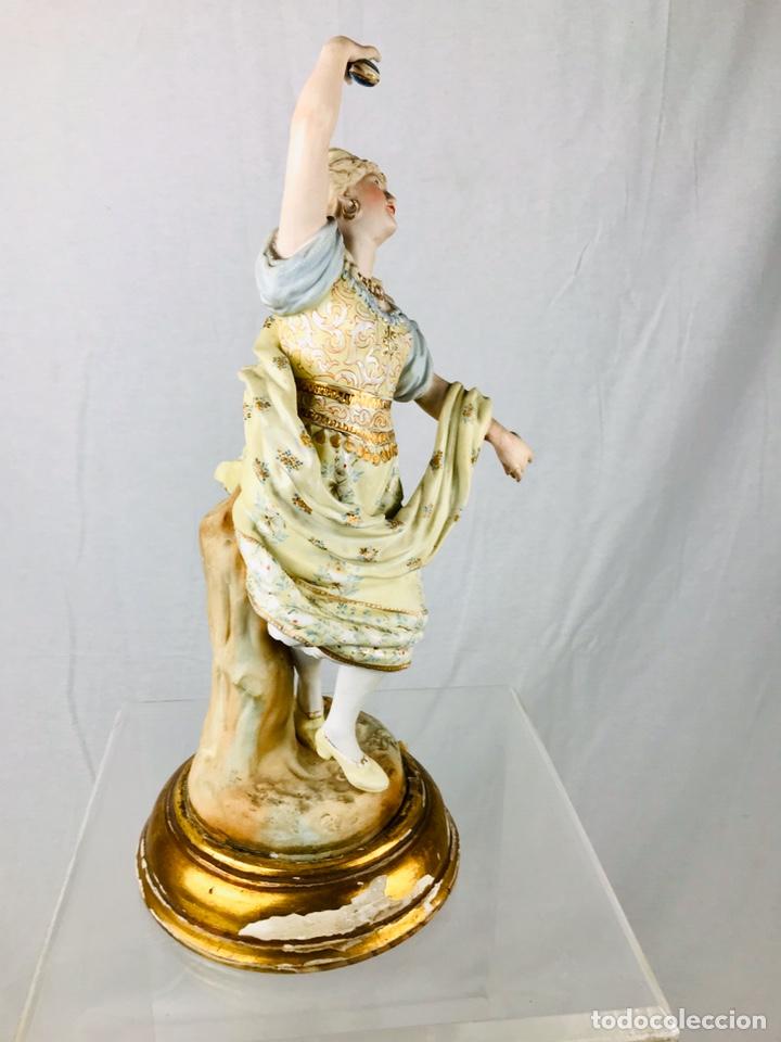 Arte: Pareja de figuras de porcelana. - Foto 4 - 196603186