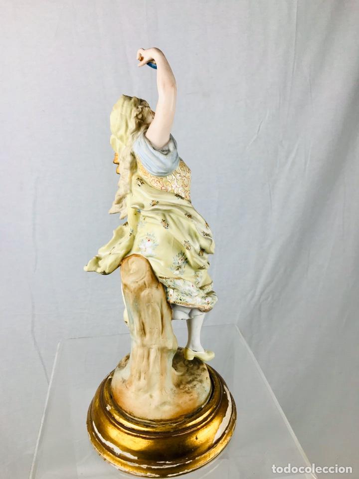 Arte: Pareja de figuras de porcelana. - Foto 6 - 196603186