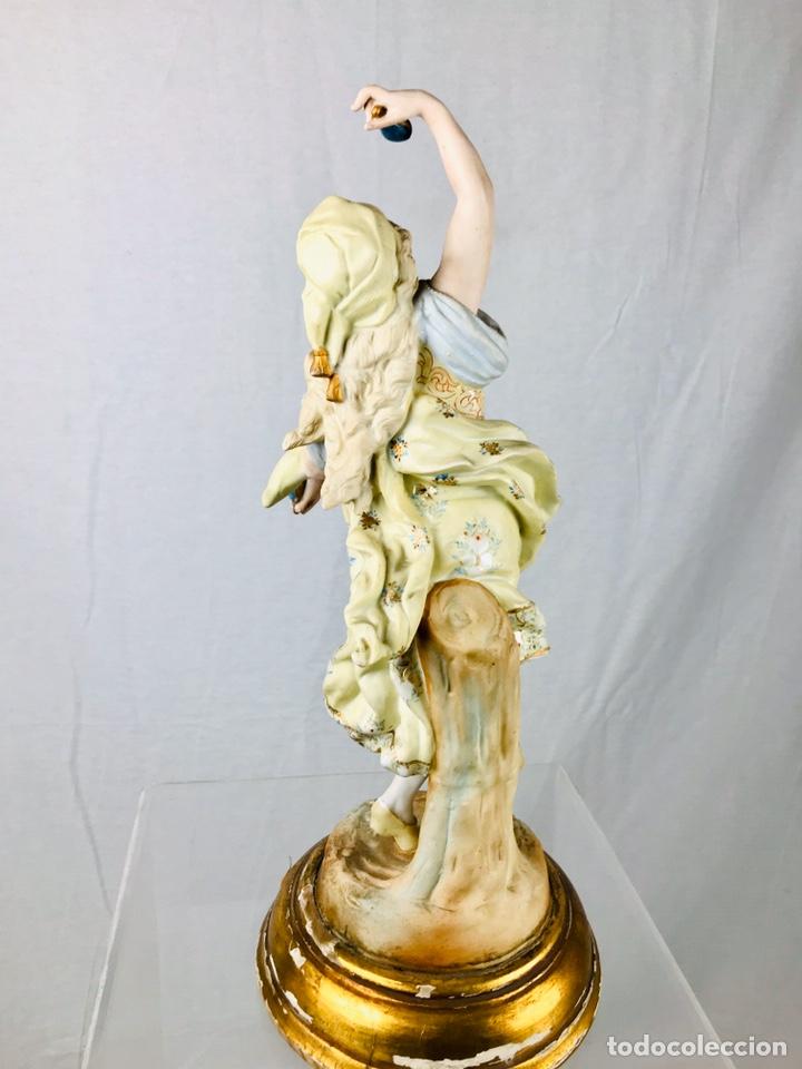 Arte: Pareja de figuras de porcelana. - Foto 7 - 196603186
