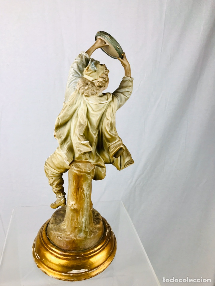 Arte: Pareja de figuras de porcelana. - Foto 14 - 196603186