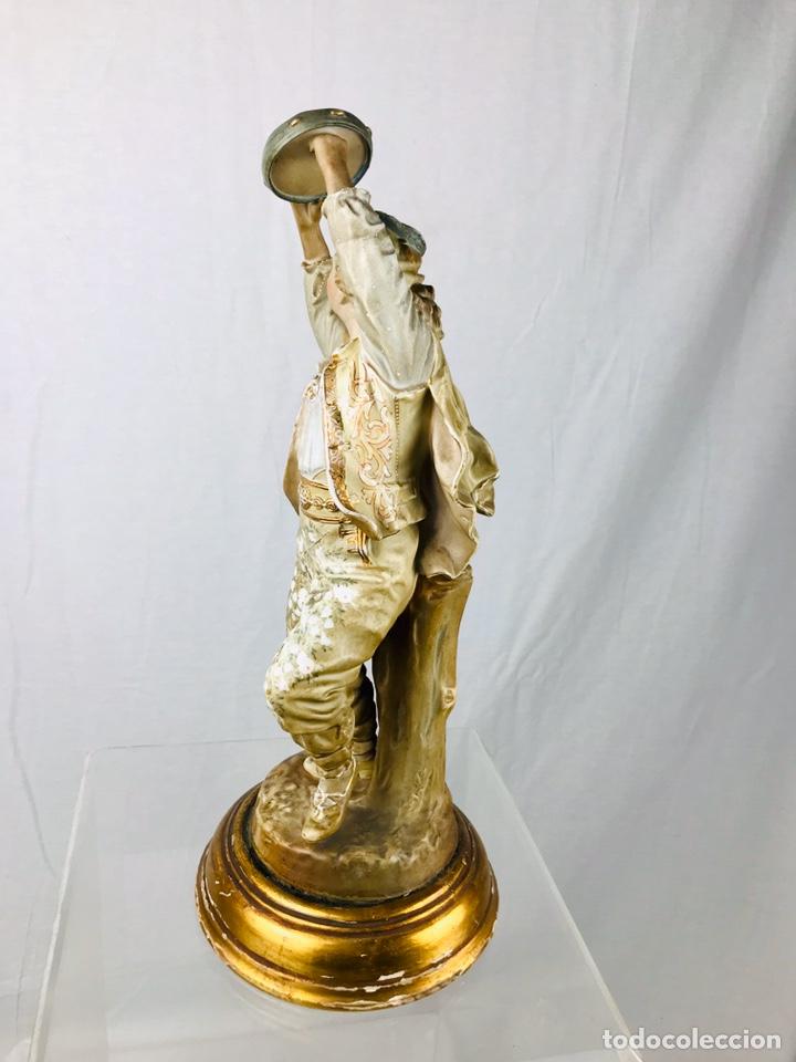 Arte: Pareja de figuras de porcelana. - Foto 16 - 196603186