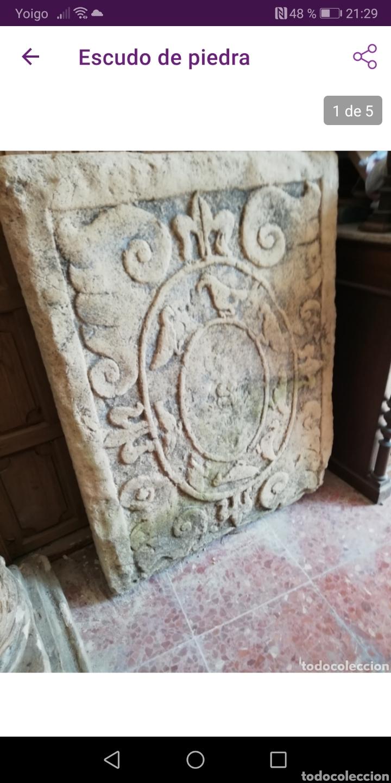 ESCUDO (Arte - Escultura - Piedra)