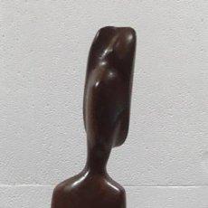 Arte: ESCULTURA TALLADA EN CAOBA. Lote 198047553