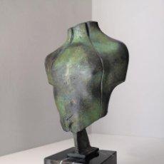 Arte: ESCULTURA TORSO EN BRONCE DE WENCESLAO JIMÉNEZ FIRMADA Y NUMERADA P/A. Lote 198571651
