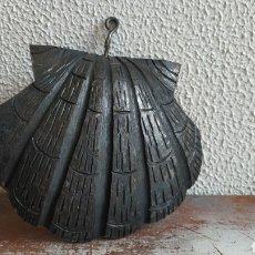 Arte: CONCHA ARTESANAL DE HIERRO. CONCHA DE HIERRO HECHA A MANO.. Lote 199002715