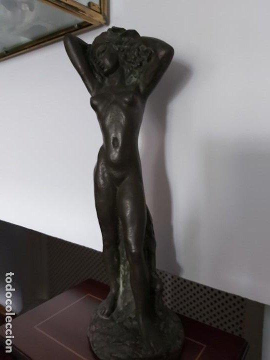 PERÚ. ESCULTOR PERUANO AGURTO. ESCULTURA BRONCE (Arte - Escultura - Bronce)