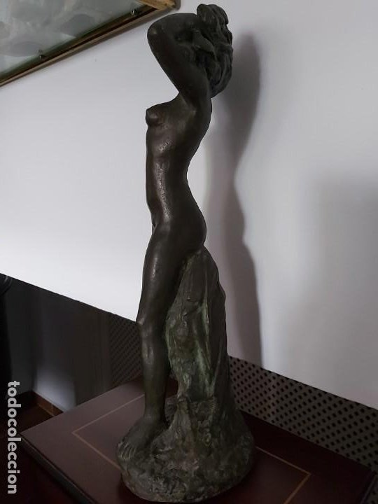 Arte: PERÚ. Escultor Peruano AGURTO. Escultura bronce - Foto 2 - 199211718