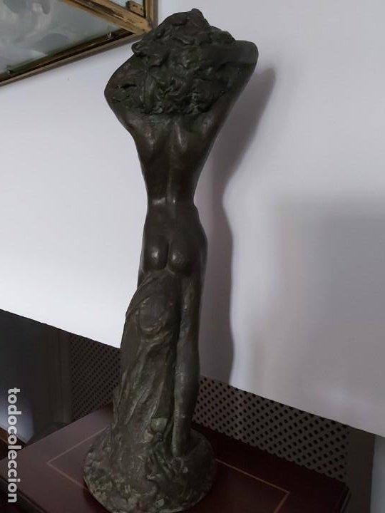 Arte: PERÚ. Escultor Peruano AGURTO. Escultura bronce - Foto 3 - 199211718