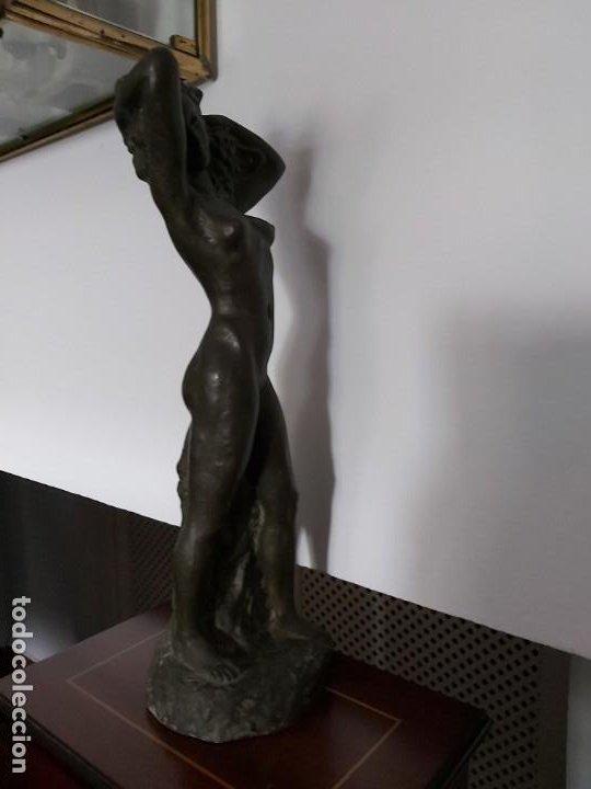 Arte: PERÚ. Escultor Peruano AGURTO. Escultura bronce - Foto 4 - 199211718