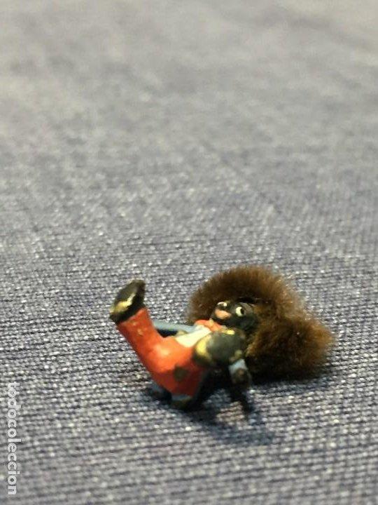 Arte: pequeño bronce viena vienne wien niño negro con enorme pelo y pajarita bronze s XIX XX 15x10mm - Foto 11 - 200805268