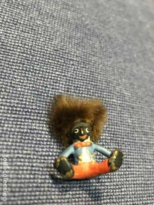Arte: pequeño bronce viena vienne wien niño negro con enorme pelo y pajarita bronze s XIX XX 15x10mm - Foto 12 - 200805268