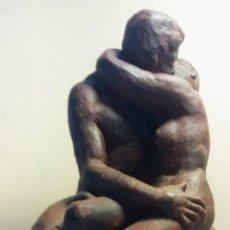 Arte: ESCULTURA BESO DE RODIN. Lote 201211656