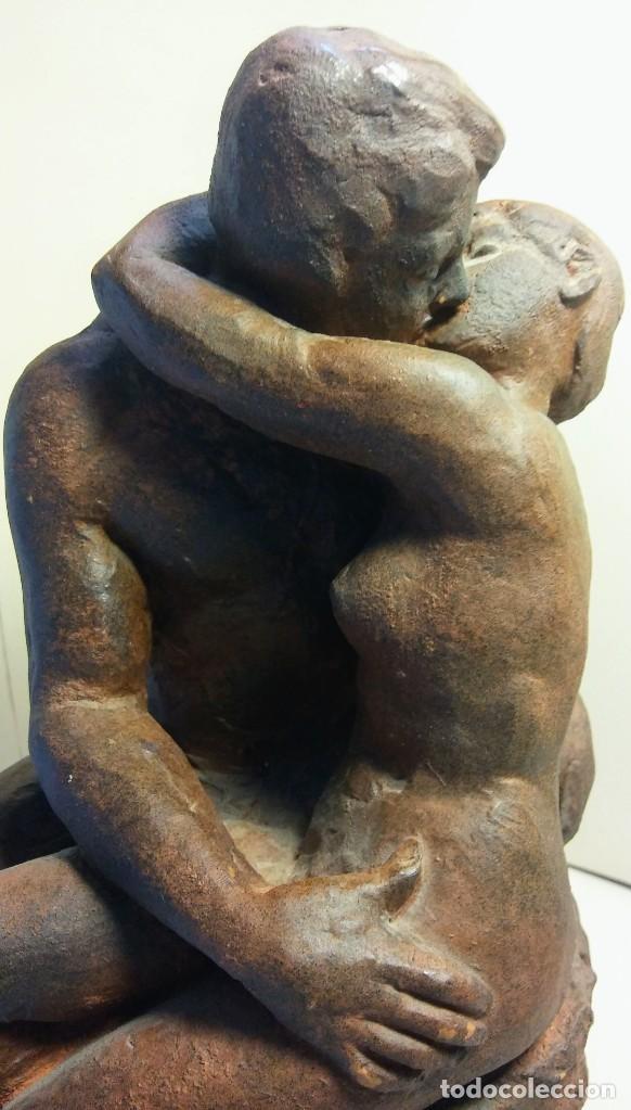Arte: ESCULTURA BESO DE RODIN - Foto 5 - 201211656