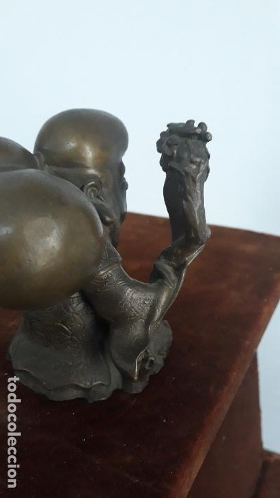 Arte: bronce chino antiguo confucio - Foto 4 - 201834002