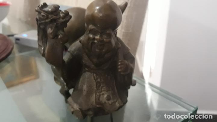 BRONCE CHINO ANTIGUO CONFUCIO (Arte - Escultura - Bronce)