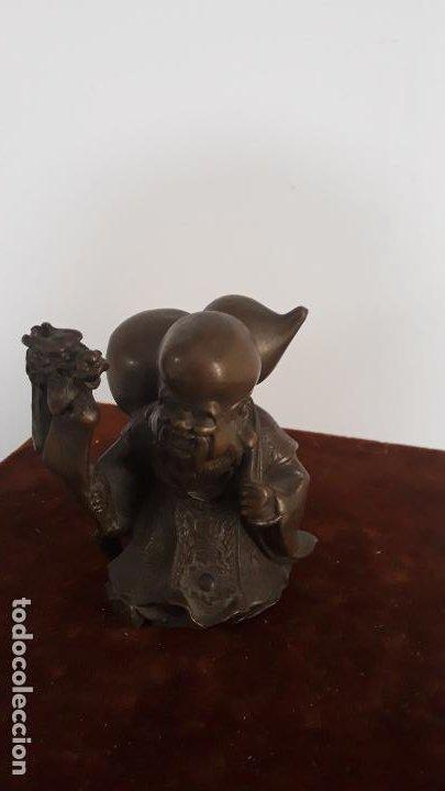 Arte: bronce chino antiguo confucio - Foto 3 - 201834002