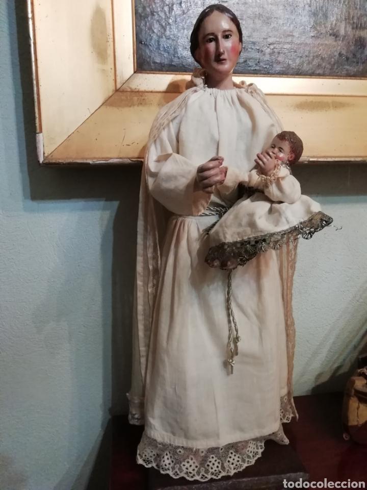 Arte: Virgen con niño - Foto 3 - 203768993