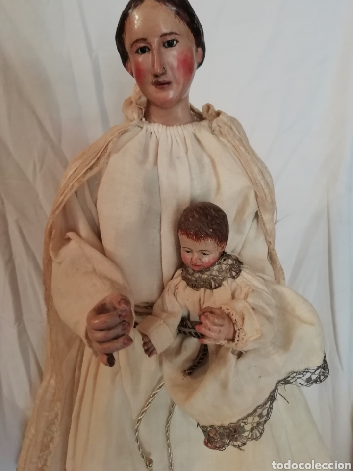Arte: Virgen con niño - Foto 4 - 203768993