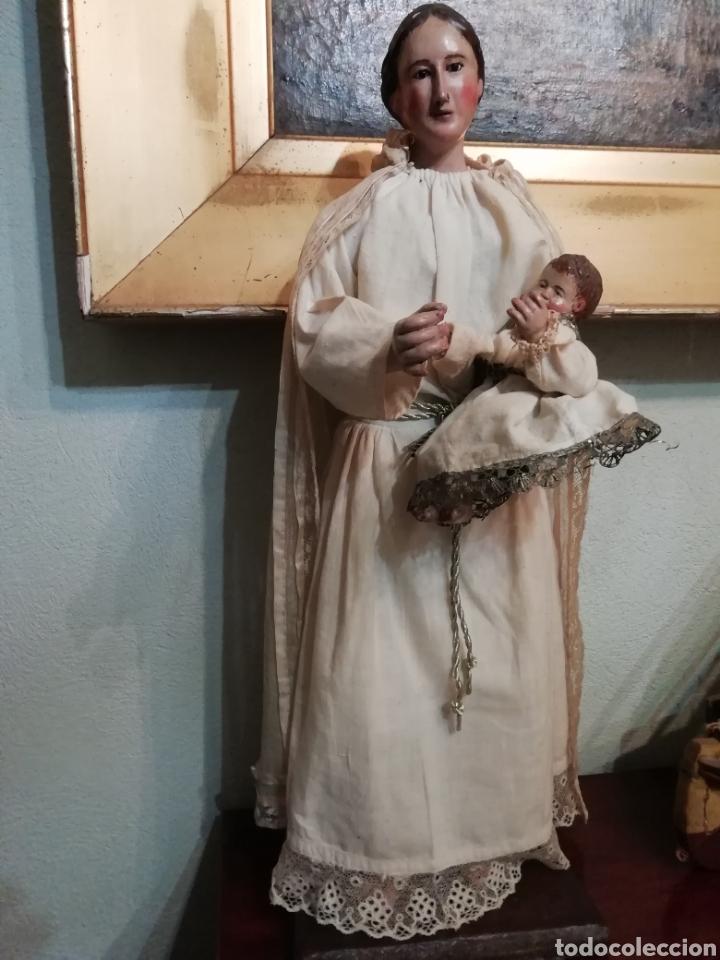 Arte: Virgen con niño - Foto 5 - 203768993