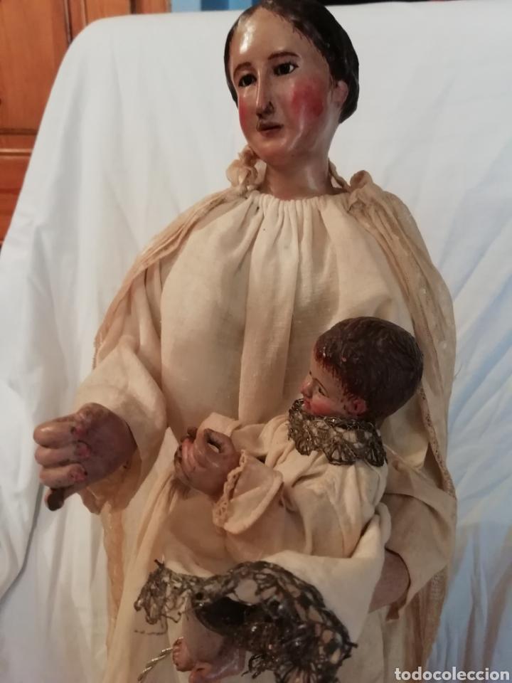 Arte: Virgen con niño - Foto 9 - 203768993