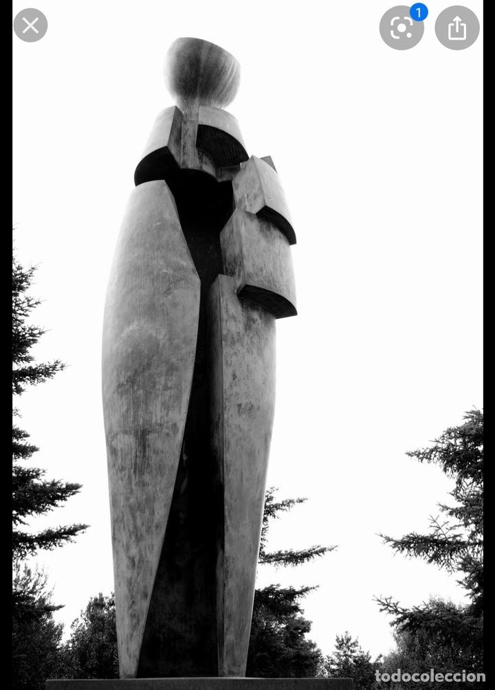 "Arte: Faustino Aizkorbe ( Pamplona, 1948) Escultura en bronce de ""Homenaje a San Francisco Javier"" - Foto 9 - 203898968"