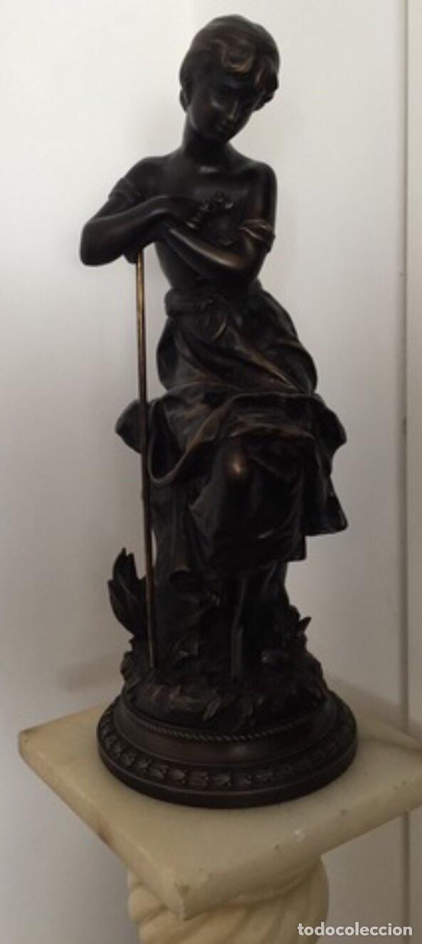 Arte: Escultura de Joven Clásica de Resina - Foto 3 - 204108861