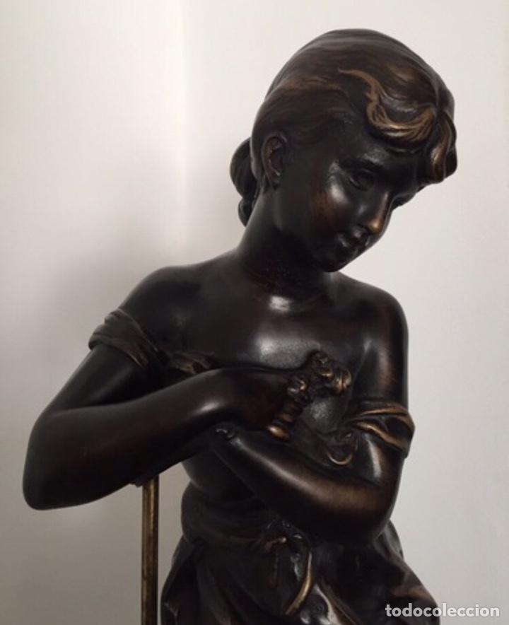 Arte: Escultura de Joven Clásica de Resina - Foto 4 - 204108861