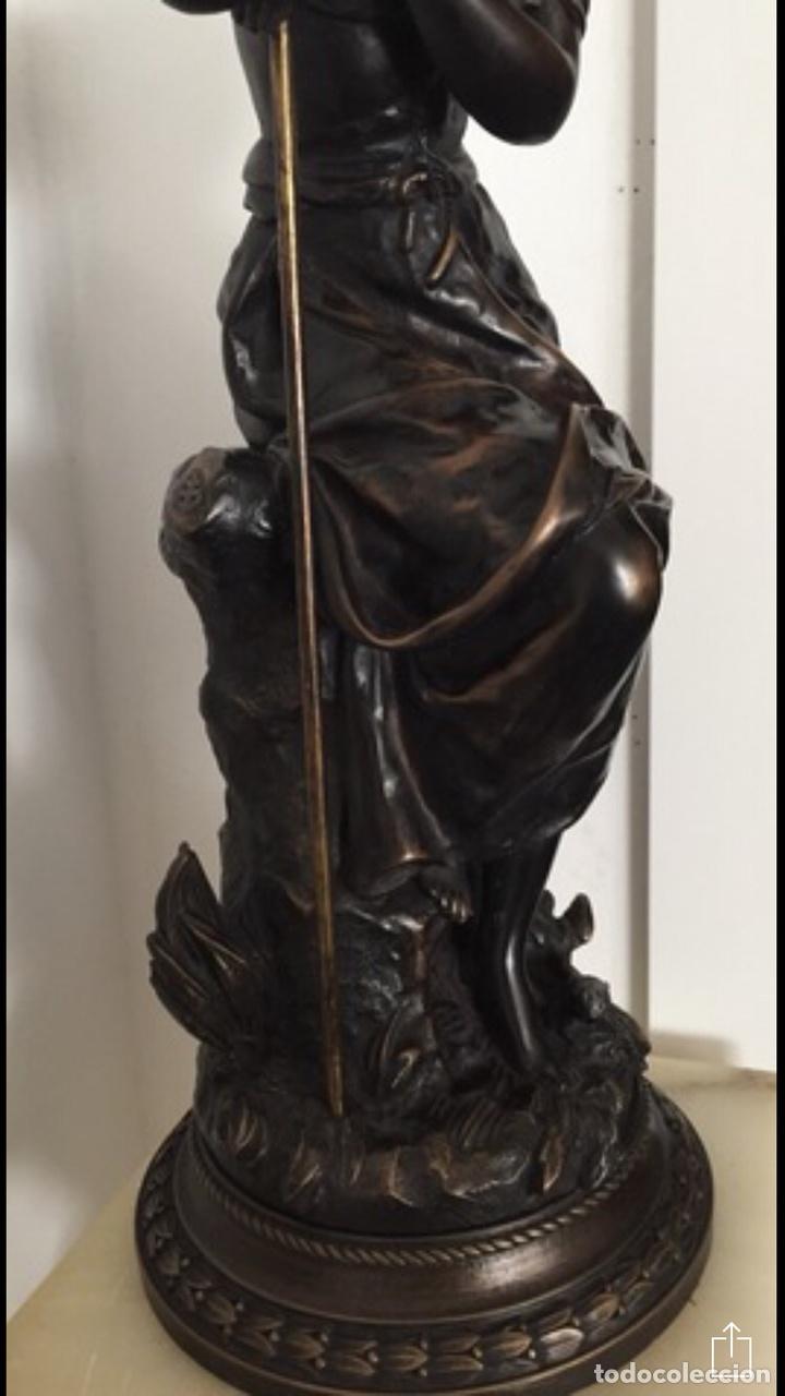 Arte: Escultura de Joven Clásica de Resina - Foto 6 - 204108861
