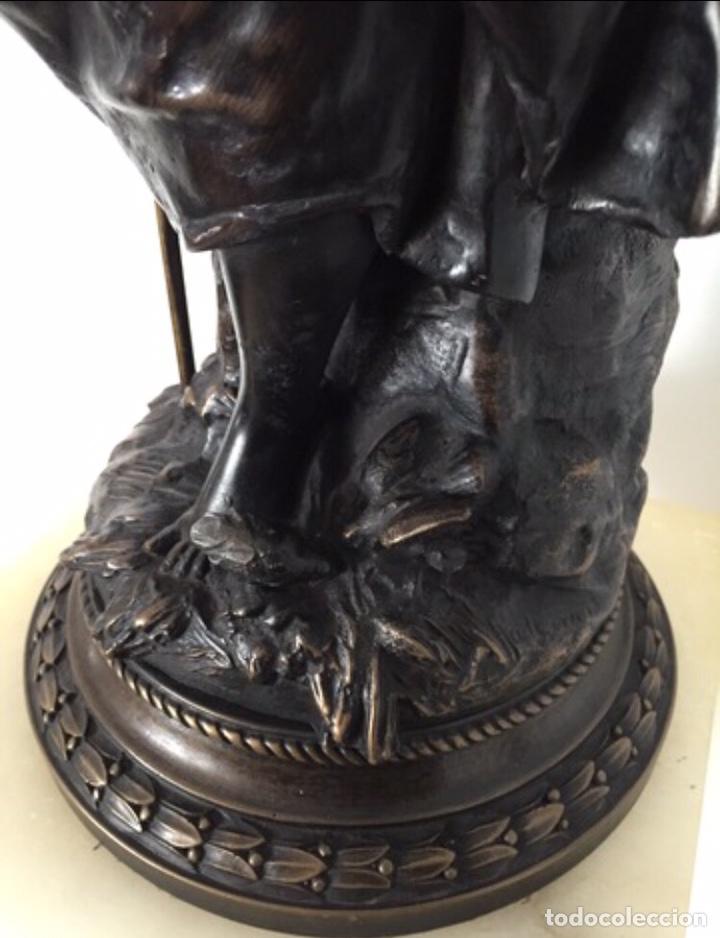 Arte: Escultura de Joven Clásica de Resina - Foto 7 - 204108861