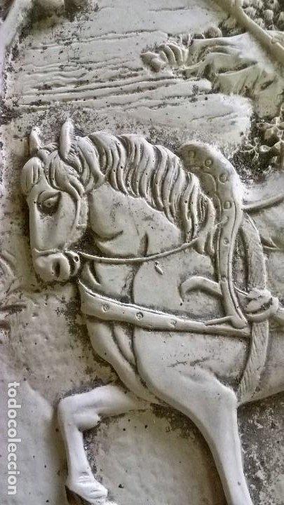 Arte: Placa de pasta de alabastro - Foto 3 - 204167100