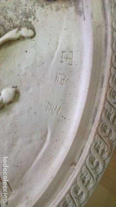 Arte: Placa de pasta de alabastro - Foto 6 - 204167100