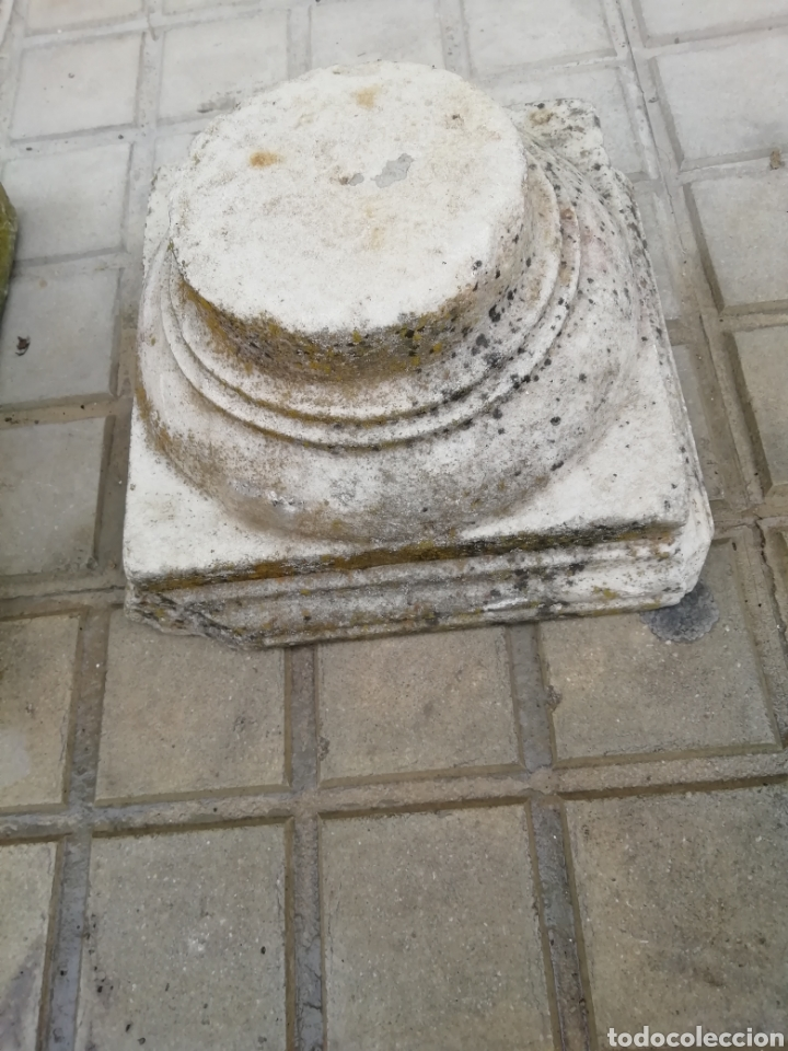 Arte: 2 capiteles antiguos de mármol - Foto 6 - 204274710