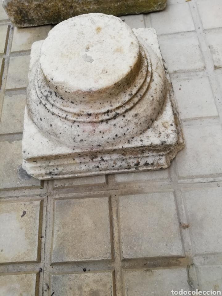 Arte: 2 capiteles antiguos de mármol - Foto 7 - 204274710