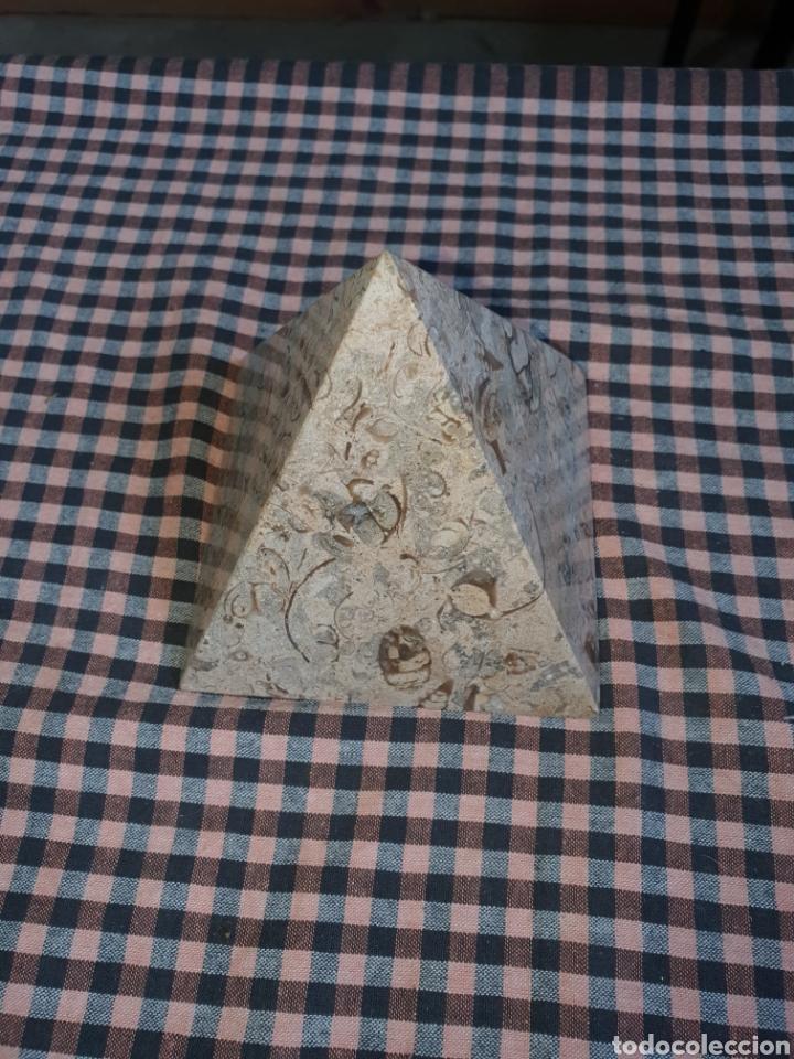 Arte: Pirámide de piedra pulida 10 cm x 10. - Foto 2 - 204280238