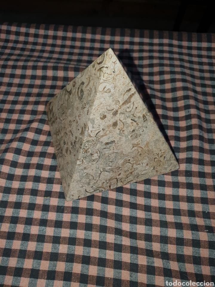 Arte: Pirámide de piedra pulida 10 cm x 10. - Foto 5 - 204280238
