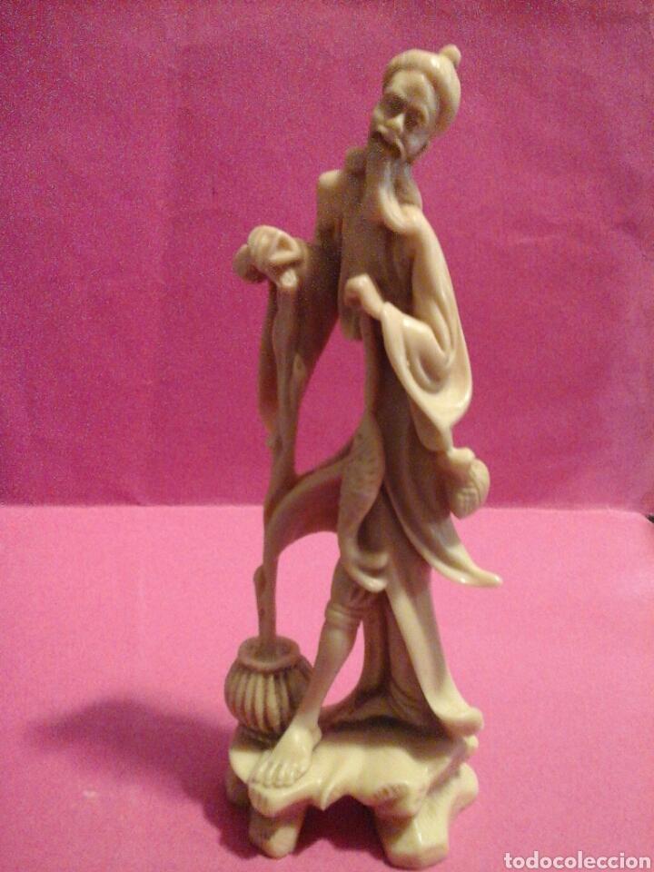 Arte: Figurita pescador chino - Foto 4 - 204416753