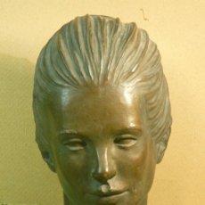 Arte: BRONCE DE MARIA LLIMONA BARCELONA CATALUÑA 1894 - 1985 PIEZA UNICA FIRMADA FECHADA 1960. Lote 204604243